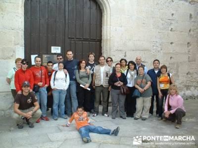 Cuellar - Ruta de castillos - Castillos Valladolid - Castillos Segovia; montañas; senderos; pueblos